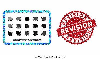 mozaika, znak, klawiatura, strapienie, rewizja