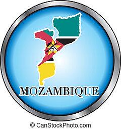 Mozambique Round Button