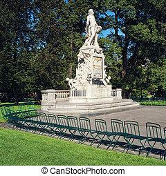 Mozart Statue, Vienna - Austria