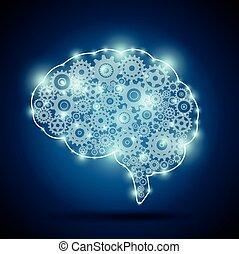 mozek, o, neurč. člen, strojová inteligence