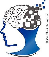 mozek, technika