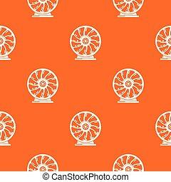 mozgatható, motívum, vektor, perpetuum, narancs
