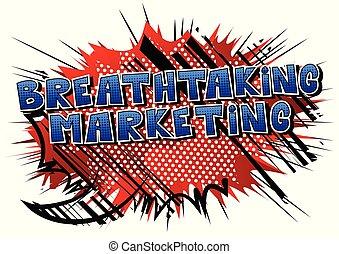 mozzafiato, marketing, word., -, stile, libro, comico
