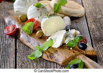 Mozzarella snack