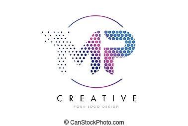 Mp m p pink vintage retro letter company logo icon design mp m p mp m p pink magenta dotted bubble letter logo design vector spiritdancerdesigns Images