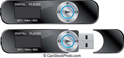 mp3 digital player