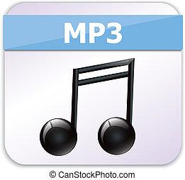 mp3, ikona