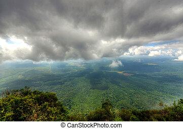 mpumalanga, afrique, dieu, fenêtre sud