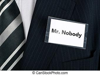 mr., nikdo