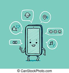 Mr smart phone social networks