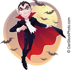 A count dracula called mr. vampire.