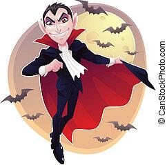 Mr. Vampire - A count dracula called mr. vampire.