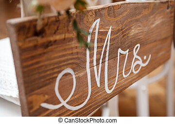 mr., y, mrs., señal