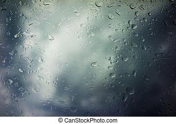 mračno, bouře, grafické pozadí