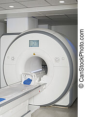 MRI Scan Machine In Hospital