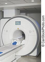 MRI Scan Machine In Hospital