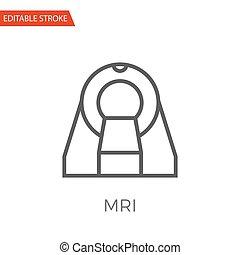 MRI Vector Icon