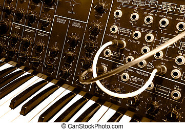 MS-20 4 - Legendary analog synthesizer from the seventies -...