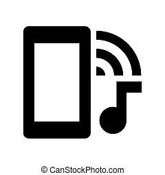 msidiqf, -, sistema, ringtone, icono de teléfono
