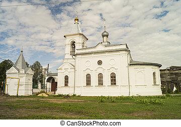 mstyora, iglesia, trabajador, milagro, nikolaya, aldea