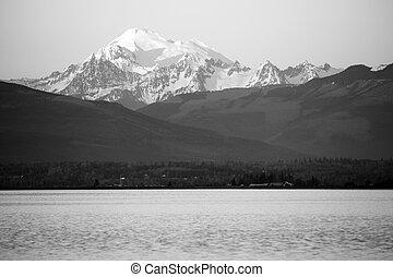 mt ベイカー, 北, 山をカスケードにしなさい, puget 音, ワシントン