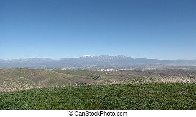 Mt. Baldy from San Juan Hill
