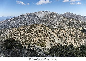 Mt Baldy Summit in Los Angeles County California