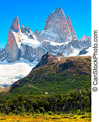 Mt Fitz Roy in Patagonia