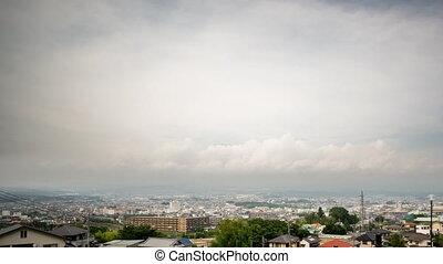 Mt Fuji and Fujinomiya city Time-Lapse