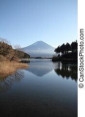 Mt. Fuji from Tanuki lake
