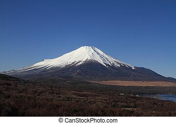 Mt. Fuji from Yamanaka lake
