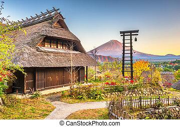 Mt. Fuji, Japan Historic Village