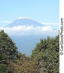 Mt. Fuji, Japan in the fall.