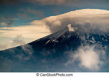 Mt. Fuji Plus Cloud