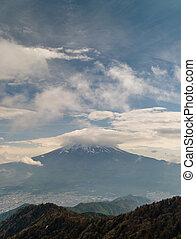 Mt. Fuji Plus Clouds