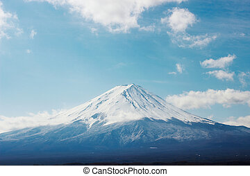 The highest Japanese mountain, Mt fuji