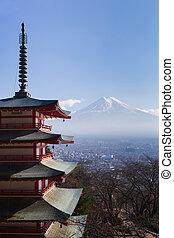 Mt. Fuji viewed