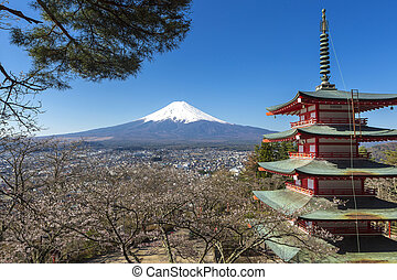 Mt. Fuji viewed