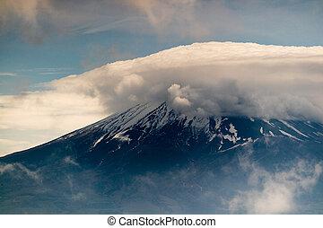 Mt. Fuji With Cloud