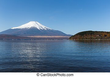 Mt. Fuji with Lake Yamanaka