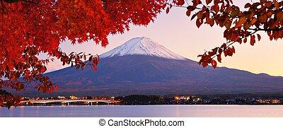 Mt. Fujiin Autumn