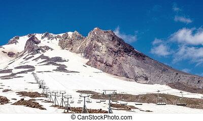 Mt. Hood Peak Time Lapse