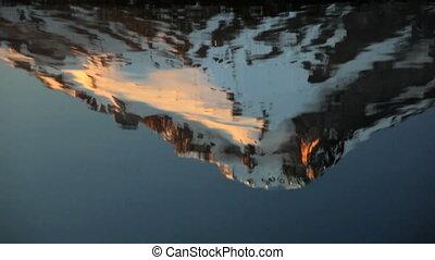 Mt. Hood Reflection - Mount Hood reflecting off Trillium...