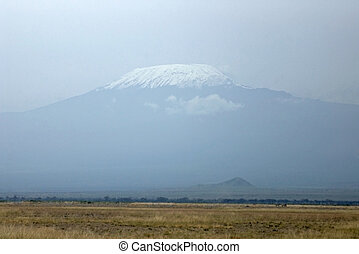 Mt. Kilimanjaro, Africa.