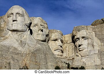 Mt. Rushmore - Historic monument of U. S. Presidents