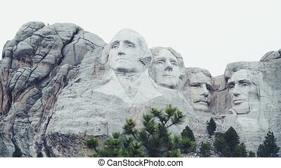 Mt. Rushmore National Memorial is located in southwestern ...