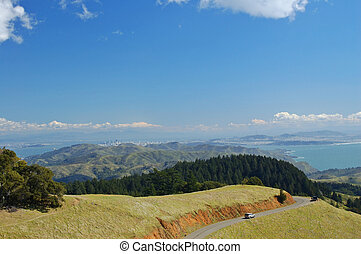 Mt. Tamapalais - Mt. Tam, Marin County, northern California