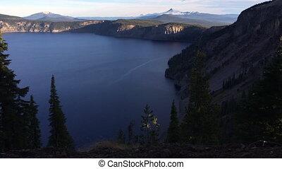 Mt Thielsen at Sunrise Oregon Landscape - Mt Thielsen at...