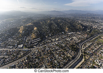 Mt Washington Los Angeles California Aerial