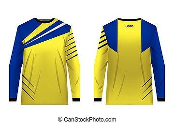 MTB jersey templates - Templates jersey for mountain biking....